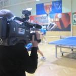 Odwiedziła nas telewizja na sobotnich rozgrywkach :)