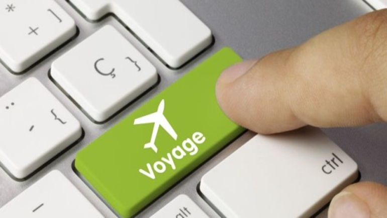 Voyage clavier doigt