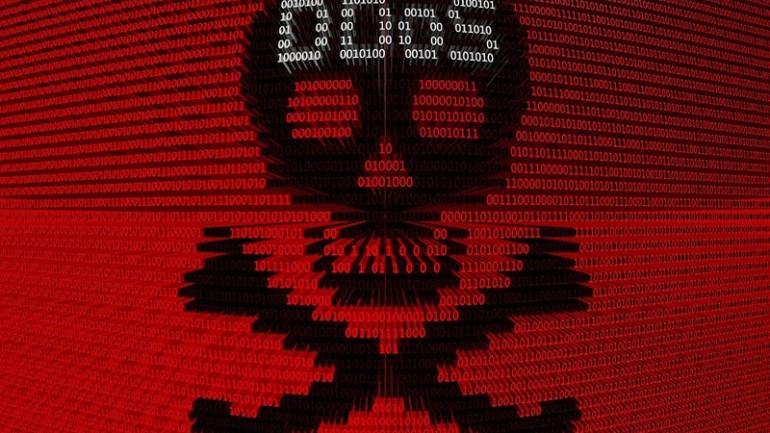 DDoS-skull