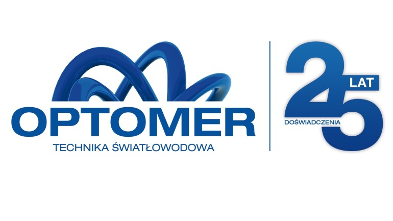 OPTOMER logoA4 25 lat wybranea