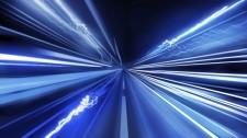Super Fast Light Beams